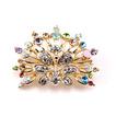 Phoenix-Top Grade Gorgeous Legierung Intarsien Diamant Brosche