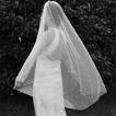 120CM Braut Perle Schleier Kurzschleier Hochzeit Zubehör