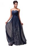 A-Linie Natürliche Taille Mittelgröße Elegant Rückenfrei Abendkleid