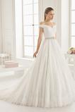 Formell Outdoor Natürliche Taille Frühling Reißverschluss Brautkleid