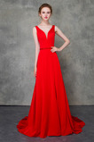 Mittelgröße Natürliche Taille Elegant Drapierung Satin Abendkleid