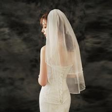Brautschleier Mode handgenähte Diamant Hochzeit Zubehör Schleier Foto Schleier