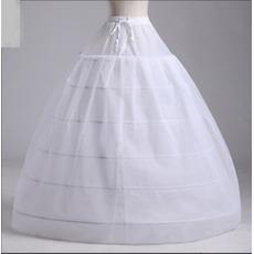 Einstellbar Starkes Netz Sechs Felgen Neuer Stil Zwei bündel Hochzeit Petticoat