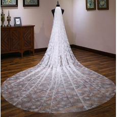 Sternenklarer Hochzeitsschleier der Art und Weise 4M, der neuen Brautschleier wedding ist