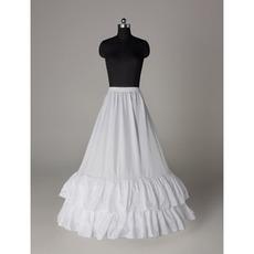 Elastische Taille Standard Hochzeitskleid Perimeter Zwei Felgen Hochzeit Petticoat