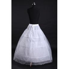 Volles Kleid Zwei bündel Standard Starkes Netz Perimeter Hochzeit Petticoat