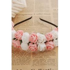 Kinder reisen Hochzeit Kleid Haar Haar Band Blumengirlanden der Mädchen