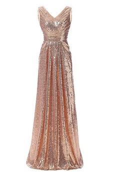 Sternenhimmel Vintage Ärmellos Mittelgröße Reißverschluss Pailletten-Kleid