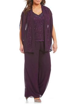 Knöchellang Hoch Überdachte V-Ausschnitt Natürliche Taille Hosenanzug Kleid