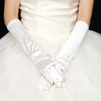 Warm Kirche Lange Vintage Volle finger Winter Hochzeit Handschuhe - Seite 1