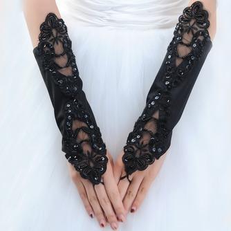 Spitze Glamouröse multifunktionale Geeignete Outdoor Hochzeit Handschuhe - Seite 1