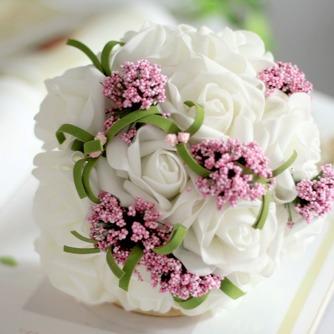 Die Simulation Blume Blumenstrauß Braut Brautjungfer Hochzeit Hand bouquet - Seite 1