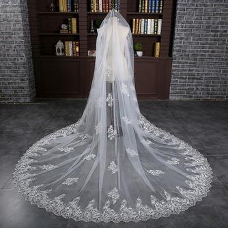 Verlängerter und verbreiterter Schleier 3 Meter langer Schwanzschleier Braut Hochzeit Zubehör Großhandel - Seite 1