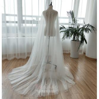 Tüll Perlen Mantel Hochzeit Schal Hochzeit Accessoires - Seite 2
