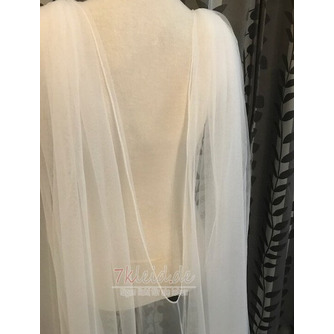 3M Tüll Schal Schleier einfachen Brautschleier Mantel - Seite 4