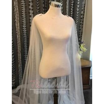 3M Tüll Schal Schleier einfachen Brautschleier Mantel - Seite 3