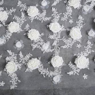 Braut Retro Schleier Hochzeit schleppend langen Schleier Blumenschleier - Seite 3