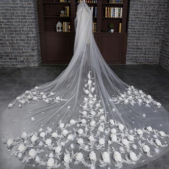 Braut Retro Schleier Hochzeit schleppend langen Schleier Blumenschleier - Seite 2