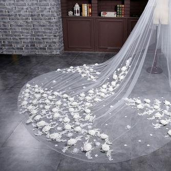 Braut Retro Schleier Hochzeit schleppend langen Schleier Blumenschleier - Seite 4
