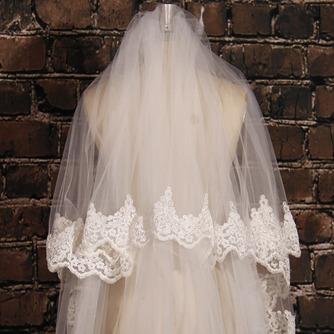 Großer Schleppspitzenschleier Brautschleier langer Schleier Hochzeitsschleier - Seite 5