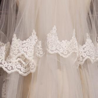 Großer Schleppspitzenschleier Brautschleier langer Schleier Hochzeitsschleier - Seite 6