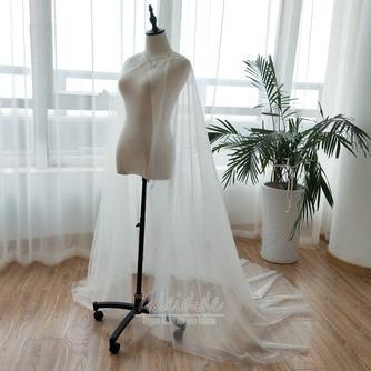 Tüll Perlen Mantel Hochzeit Schal Hochzeit Accessoires - Seite 3