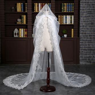 Verlängerter und verbreiterter Schleier 3 Meter langer Schwanzschleier Braut Hochzeit Zubehör Großhandel - Seite 3
