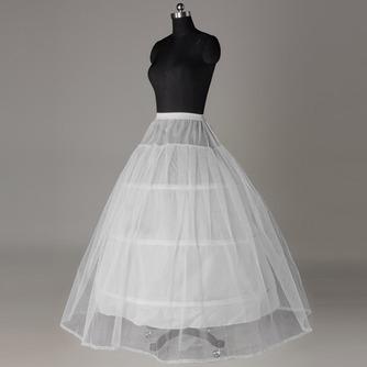 Elastische Taille Drei Felgen Standard Klassisch Starkes Netz Hochzeit Petticoat - Seite 1