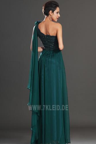 Ein Schulter Schmuck dekorativ Mieder Natürliche Taille Abendkleid - Seite 6