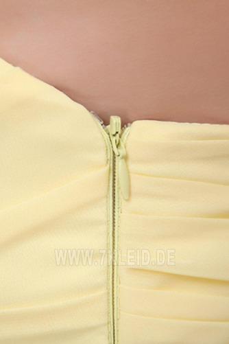 Elegant Chiffon Mitte Rücken Apfelförmig Trägerlos Abendkleid - Seite 7