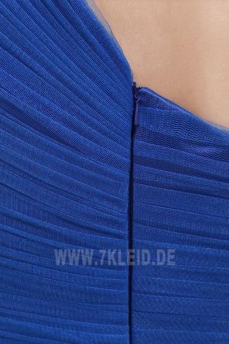 Natürliche Taille Ein Schulter Reißverschluss Romantisch Prinzessin Abendkleid - Seite 8