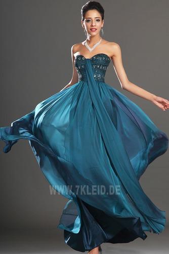 edel Bördeln Sweep Zug Schmuck dekorativ Mieder Spitze Abendkleid - Seite 3