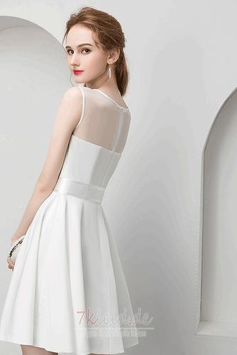 Charmante Juwel Reißverschluss Natürliche Taille Sommer Abendkleid - Seite 2