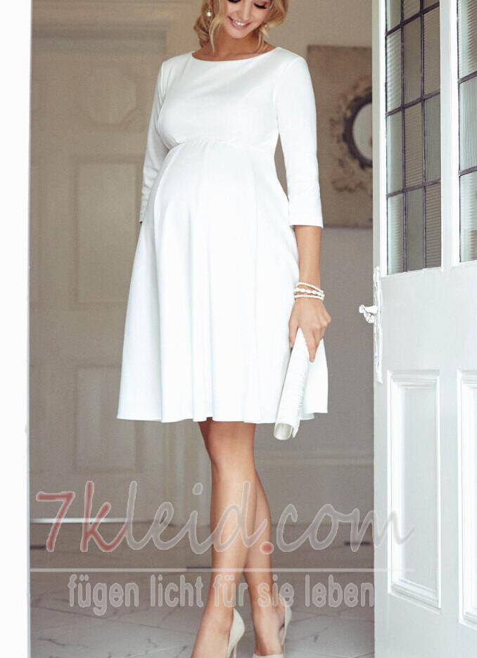 Wie man Abendkleid während der Schwangerschaft trägt